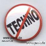 Anti-Techno badge