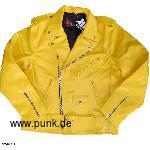 "Letherjacket ""Harvey,"" yellow"