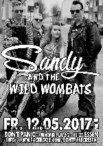 : Sandy and the Wild Wombats + Backyard Whiskers (Rockabilly)