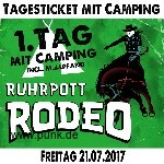 : Ruhrpott Rodeo - Freitag - Tageskarte mit Camping