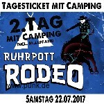 : Ruhrpott Rodeo - Samstag - Tageskarte mit Camping