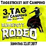 : Ruhrpott Rodeo - Sonntag - Tageskarte mit Camping