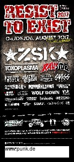Resist To Exist Festival - Sonntag