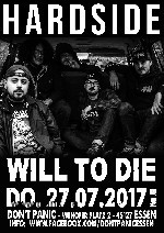 : Hardside + Will to Die (Hardcore aus den USA)