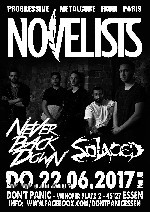 : Novelists, Never Back Down, Solaced (Metalcore)